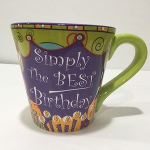Simply the Best Birthday Coffee Mug